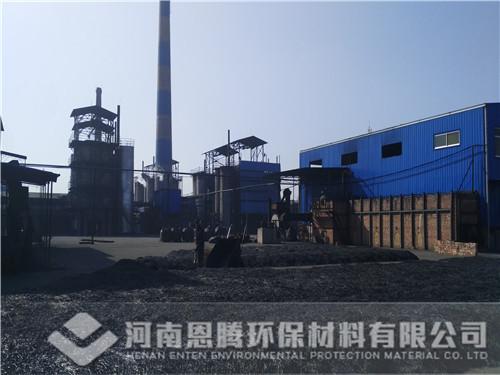 恩腾环保——煤质柱状活性炭生产现场